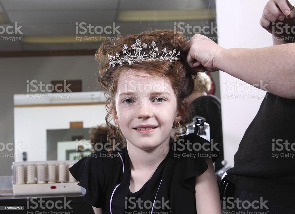 Fancy Hair stock photo