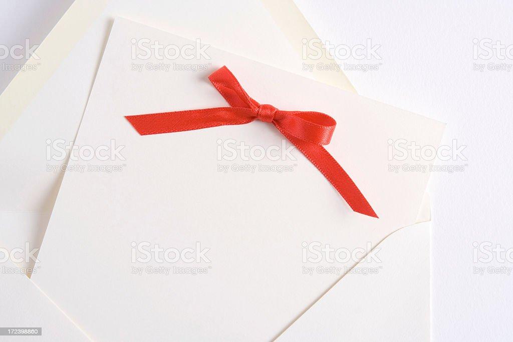 Fancy invitation royalty-free stock photo
