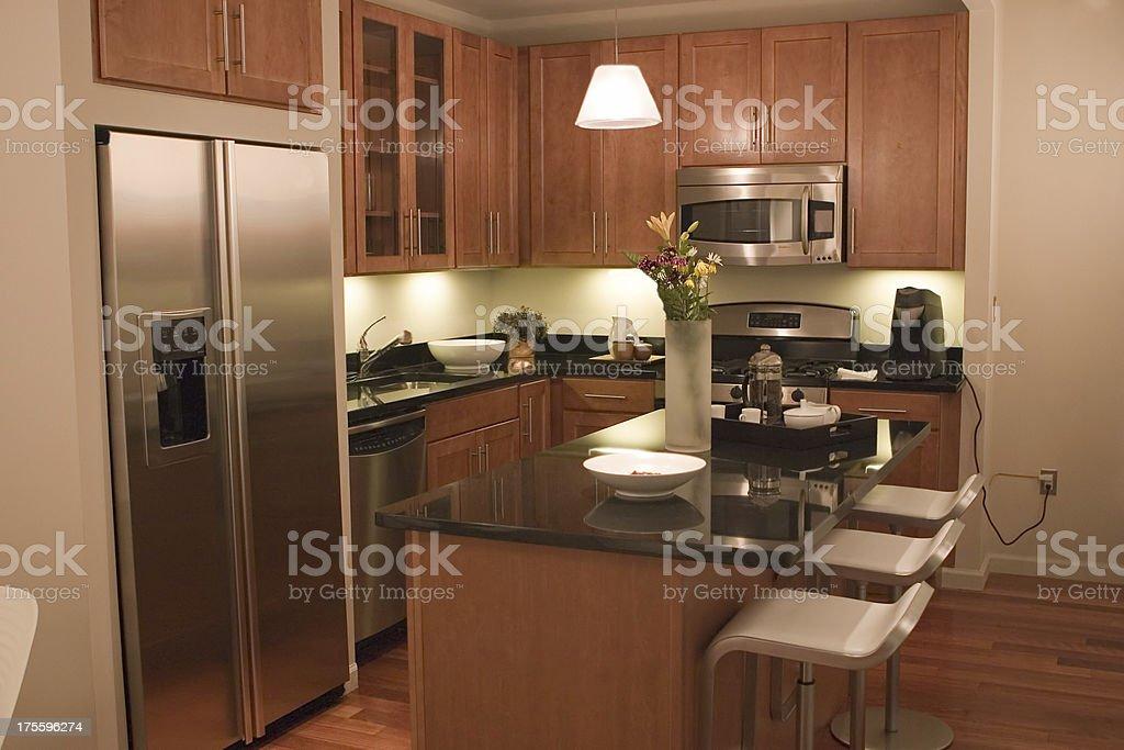 Fancy Kitchen Interior royalty-free stock photo