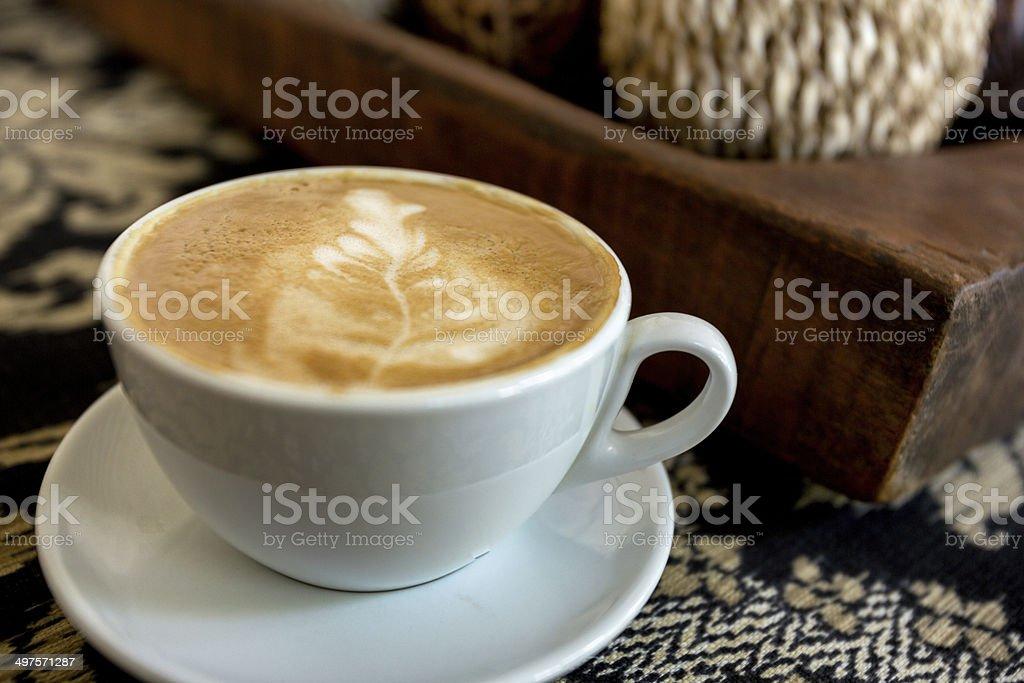 Fancy Latte stock photo