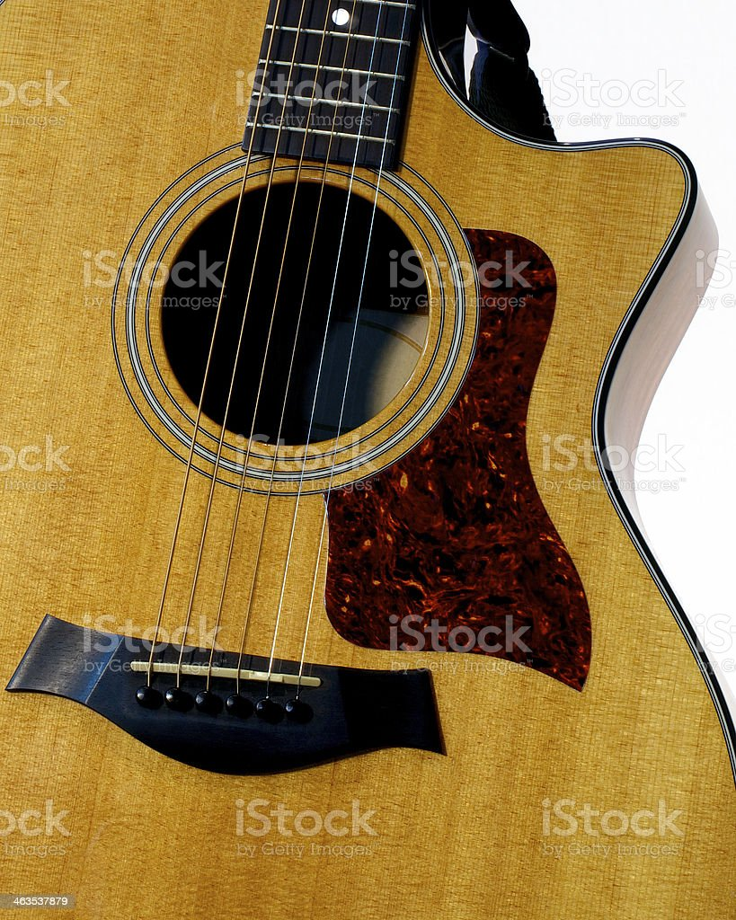 Fancy looking Guitar royalty-free stock photo