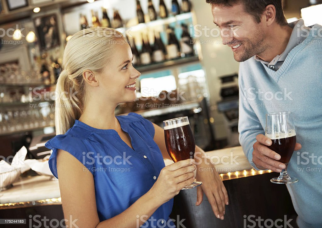 Fancy meeting you here royalty-free stock photo