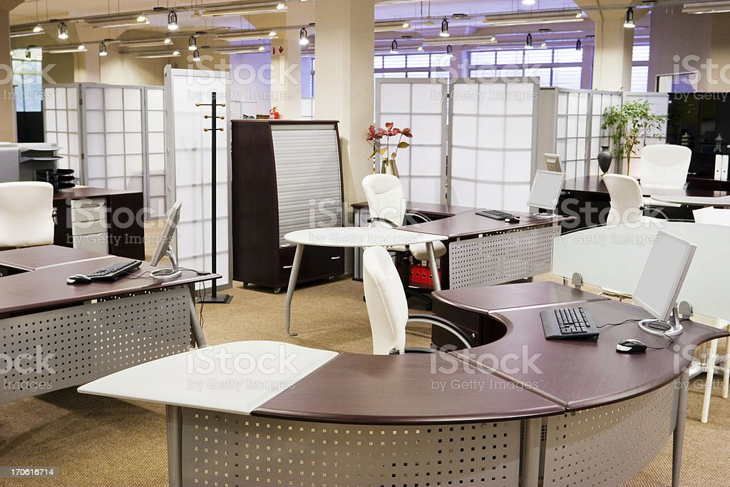 Fancy modern office royalty-free stock photo