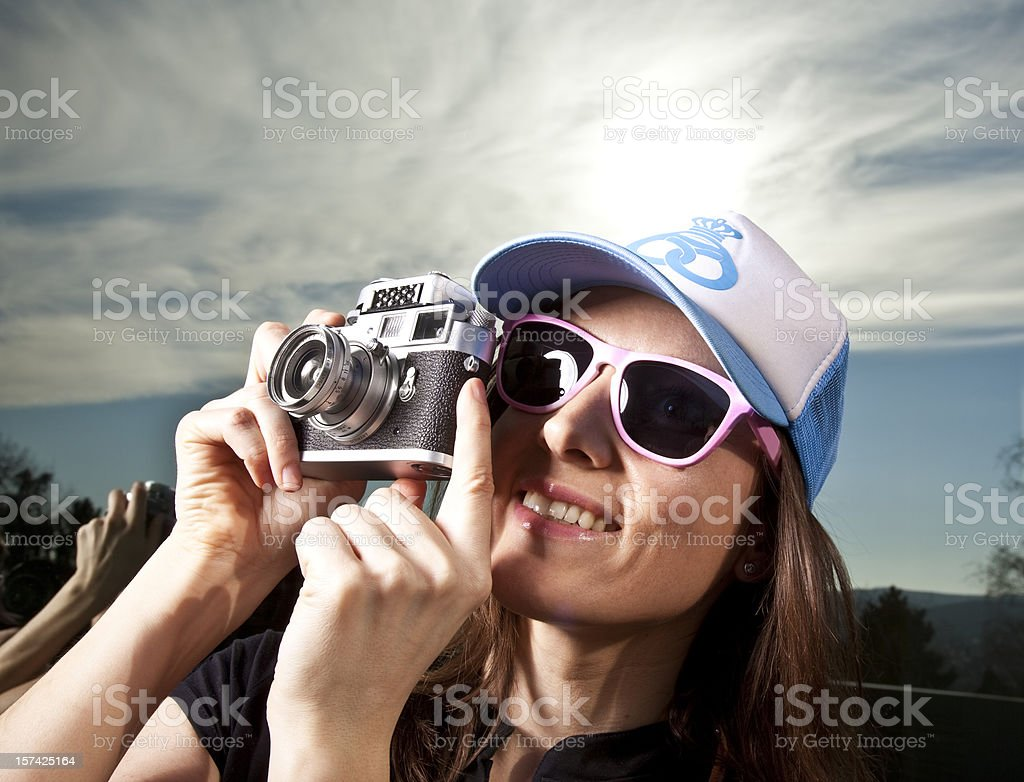 fancy photographer royalty-free stock photo
