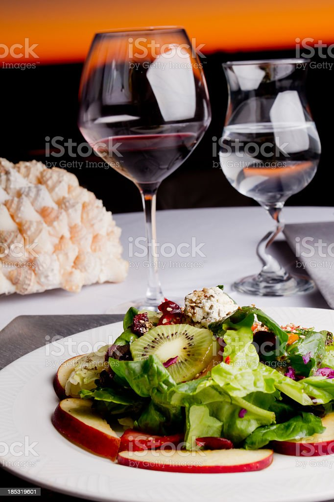 Fancy Salad royalty-free stock photo