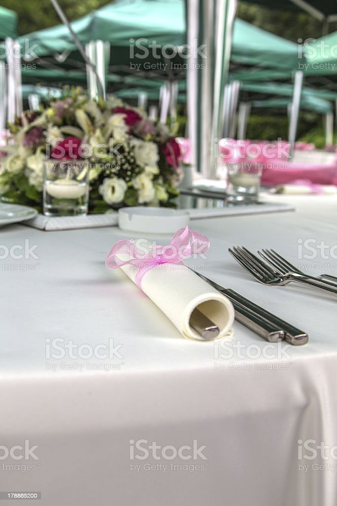 fancy table royalty-free stock photo