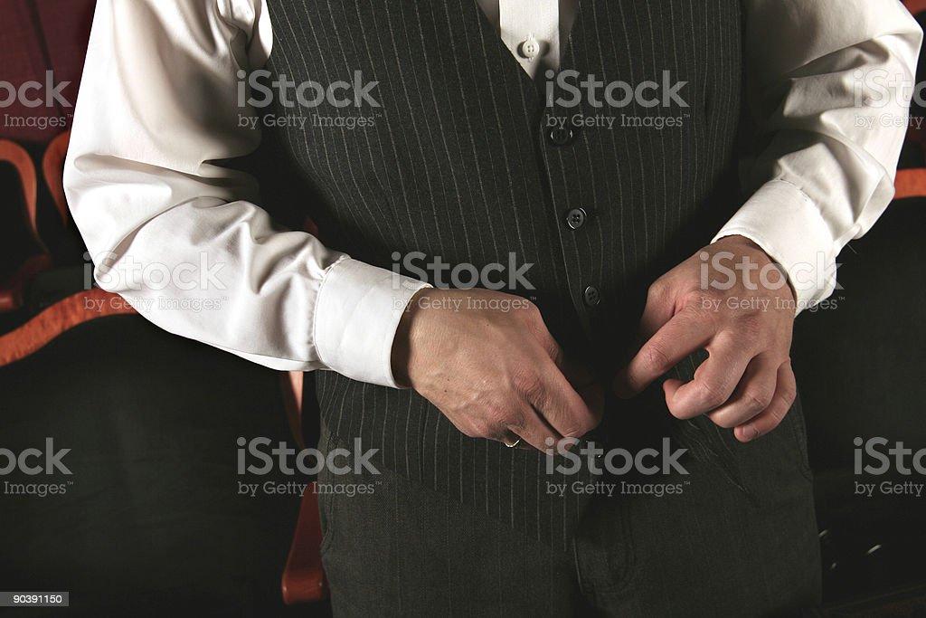 fancy vest guy royalty-free stock photo