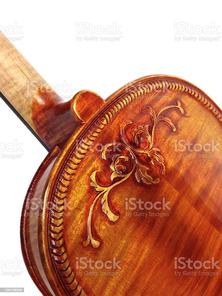 Fancy Violin Back - MobileStock royalty-free stock photo