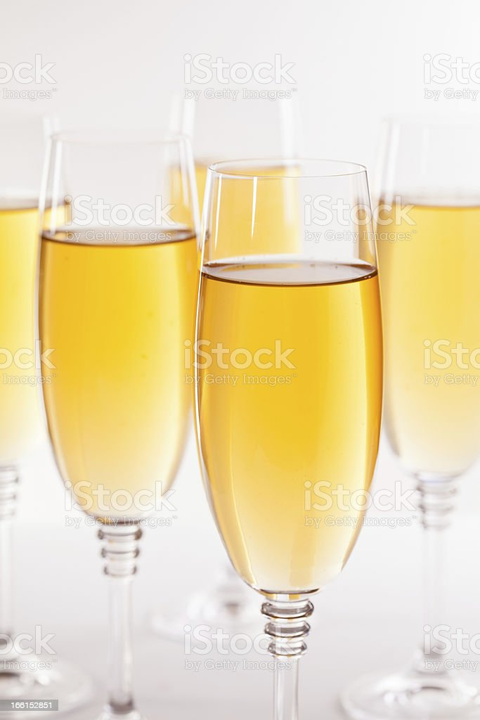 Fancy White Wine royalty-free stock photo