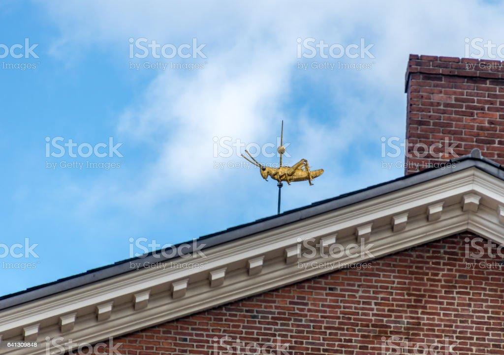 Faneuil Hall Grasshopper - Boston, Massachusetts, USA stock photo