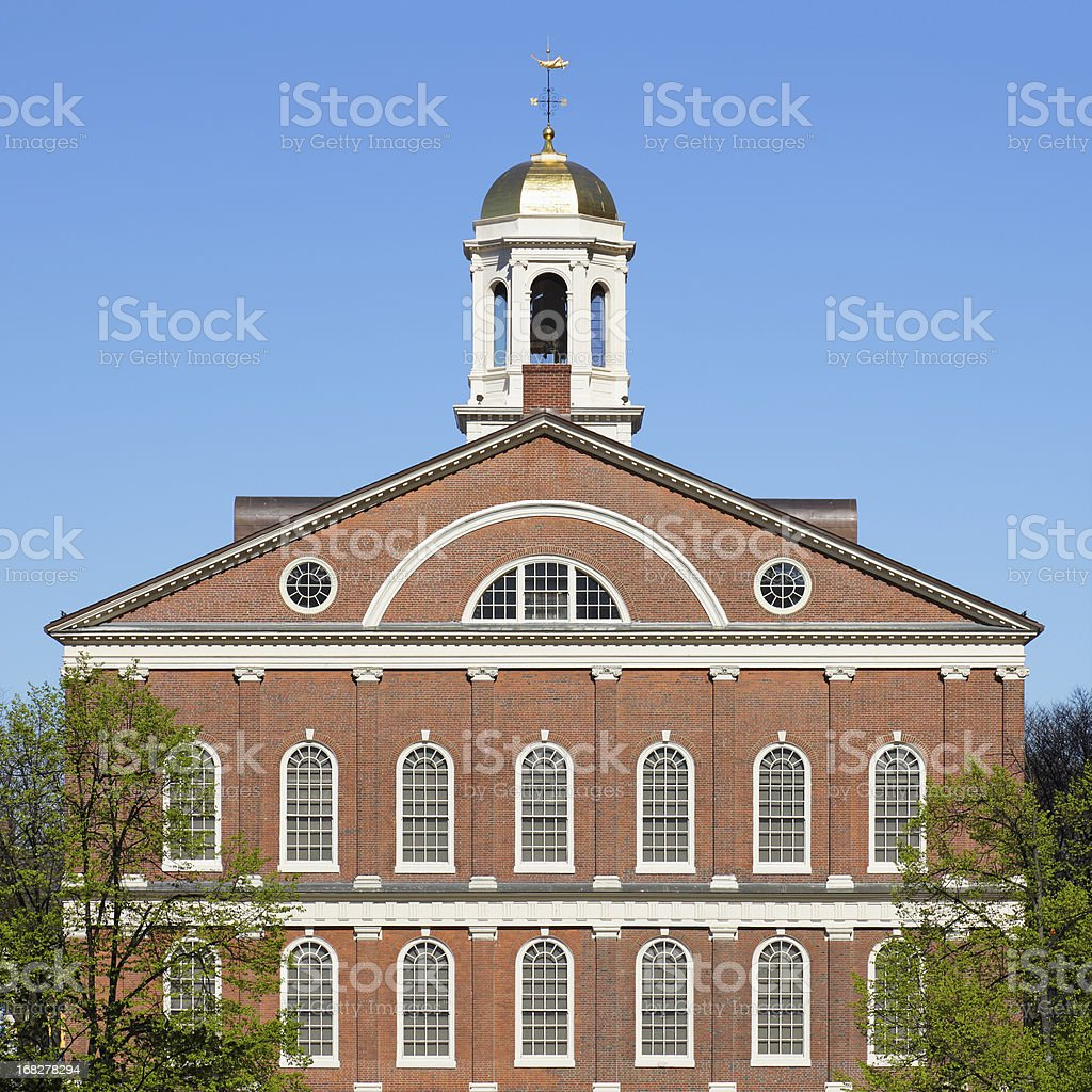 Faneuil Hall stock photo
