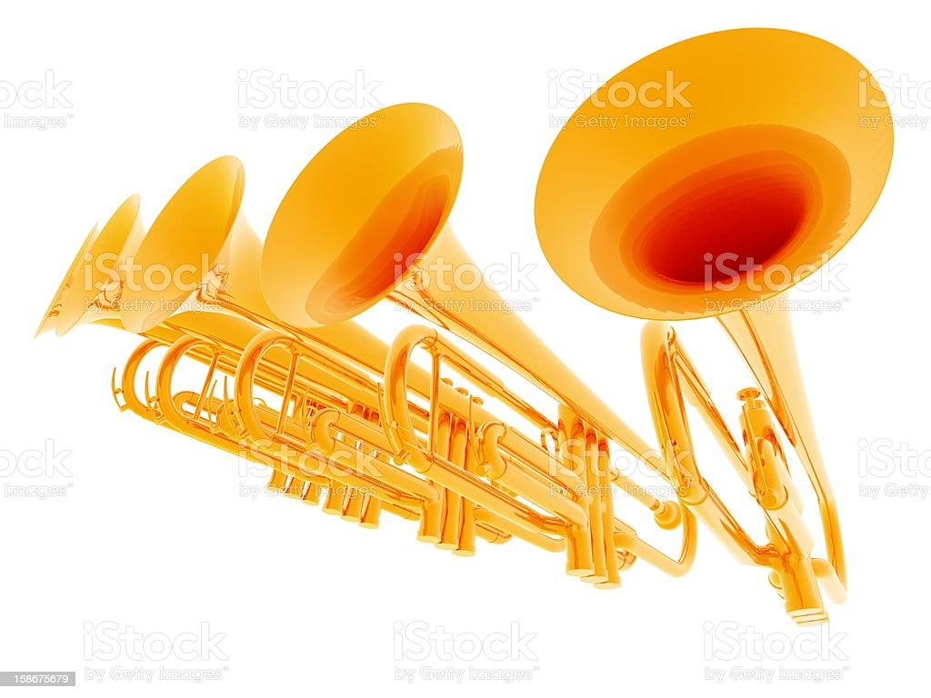 Fanfare royalty-free stock photo