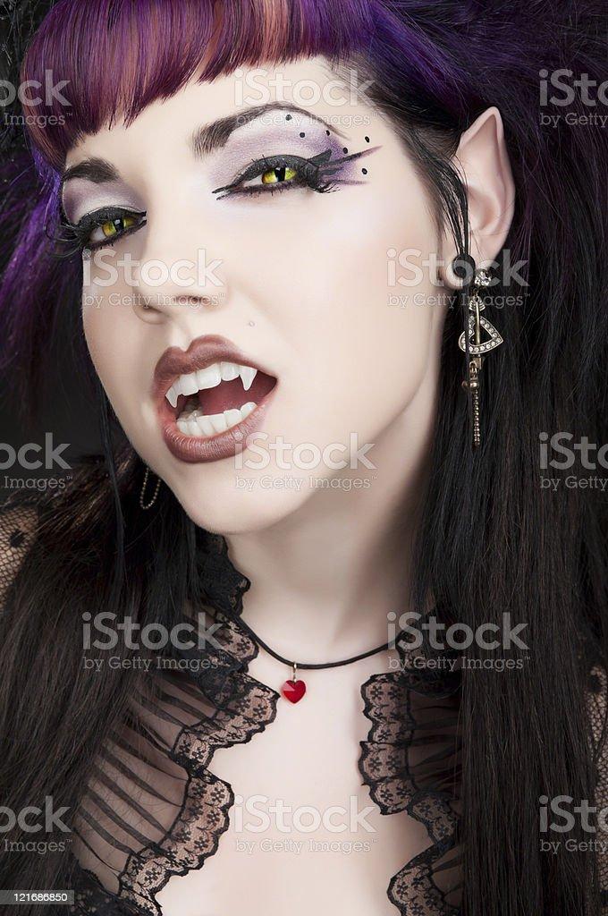 Fangtastic Vampire - Ready to Bite stock photo