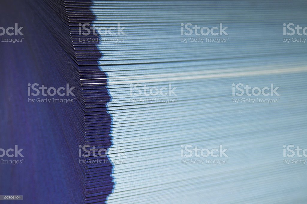 Fanned pages royalty-free stock photo