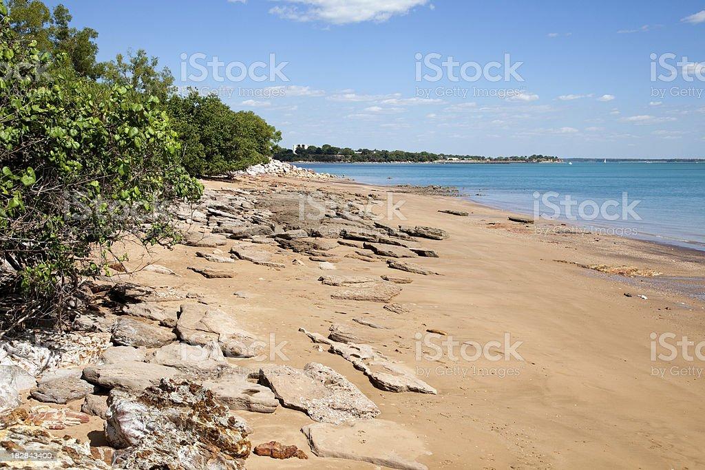 Fannie Bay in Darwin Northern Territory Australia royalty-free stock photo