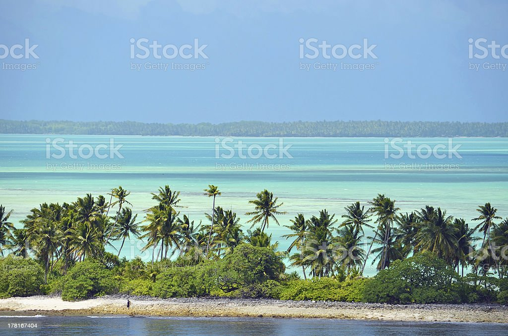 Fanning Island, Republic of Kiribati stock photo