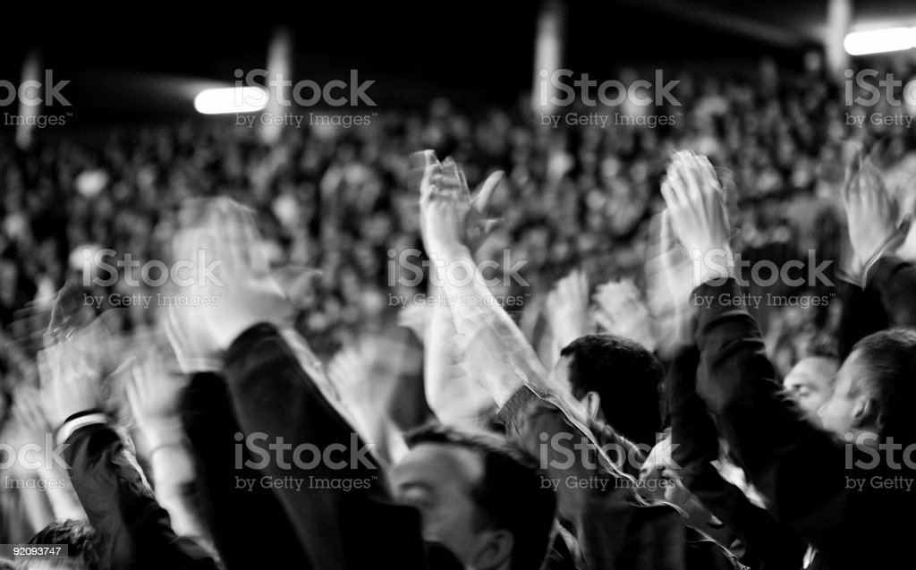 fans royalty-free stock photo