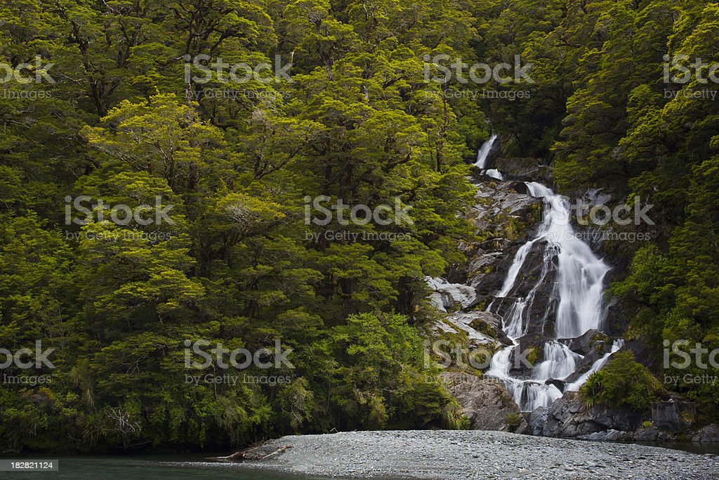 Fantail Falls stock photo