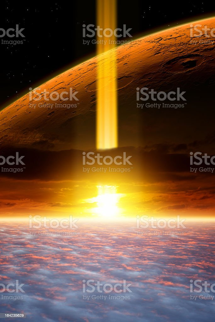 Fantastic background stock photo