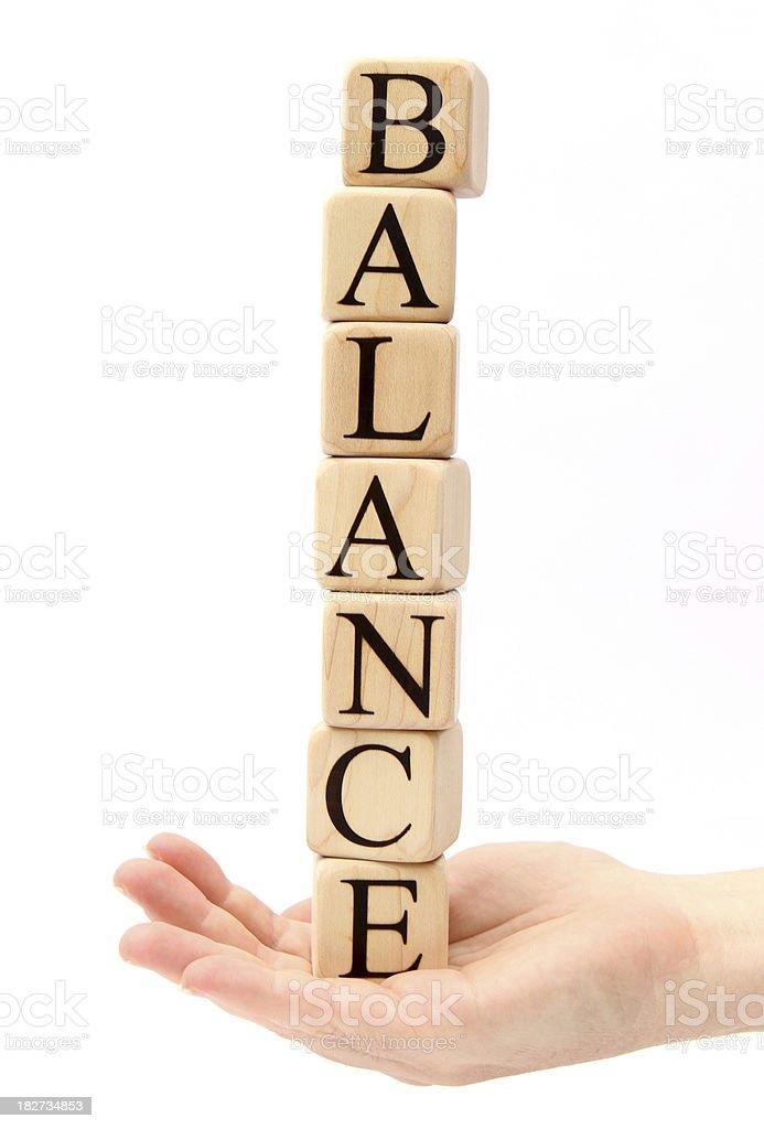 Fantastic Balance royalty-free stock photo