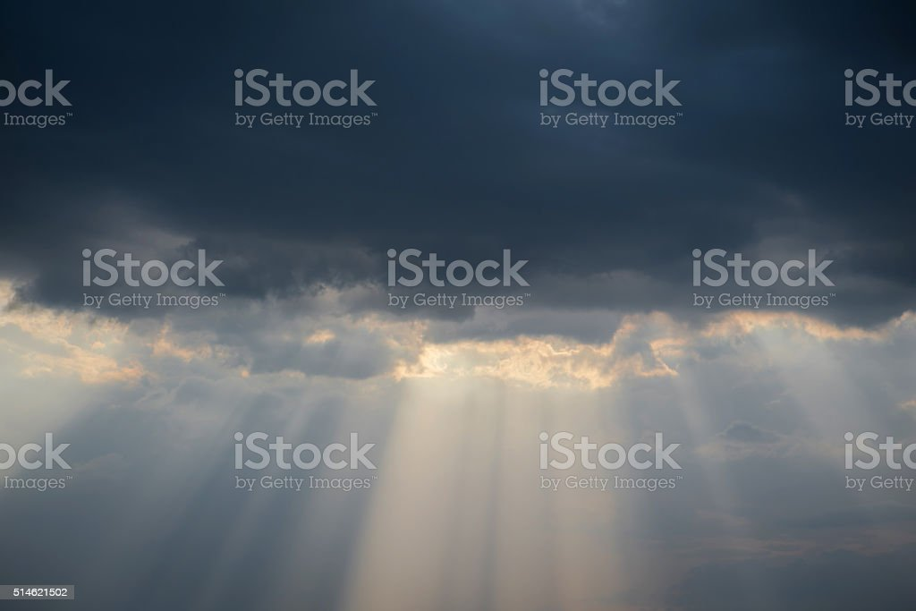 Fantastic cloud for background stock photo