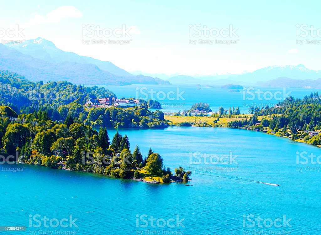 Fantastic landscape. stock photo