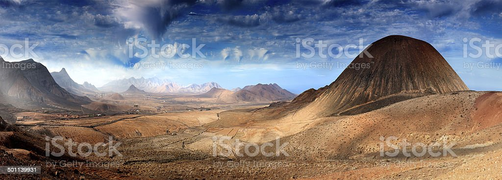 Fantastic  landscape stock photo
