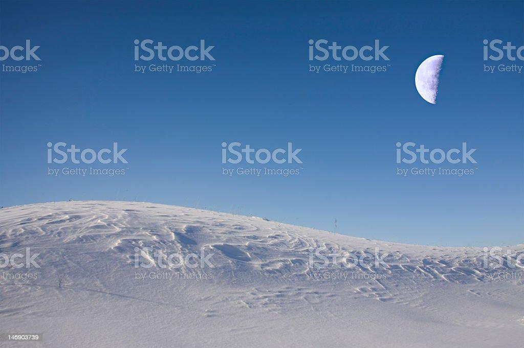 Fantastic moon stock photo