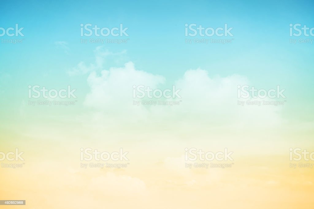 fantastic soft cloud and sky abstract background stock photo
