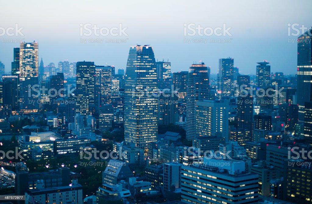 Fantastic Urban landscape stock photo