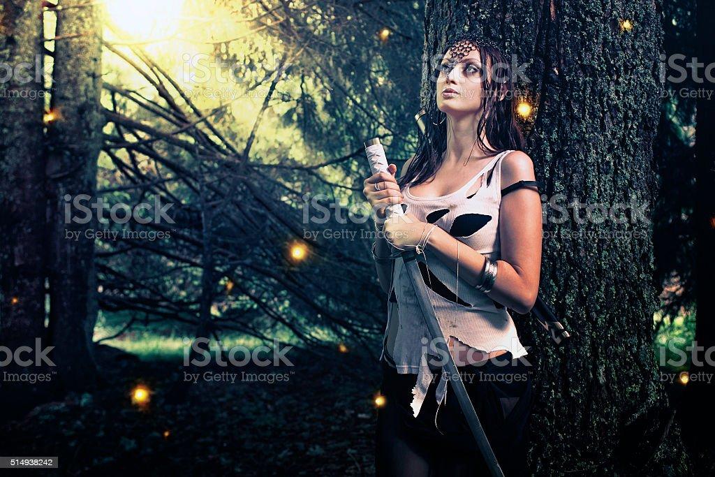 Fantasy and magic stock photo