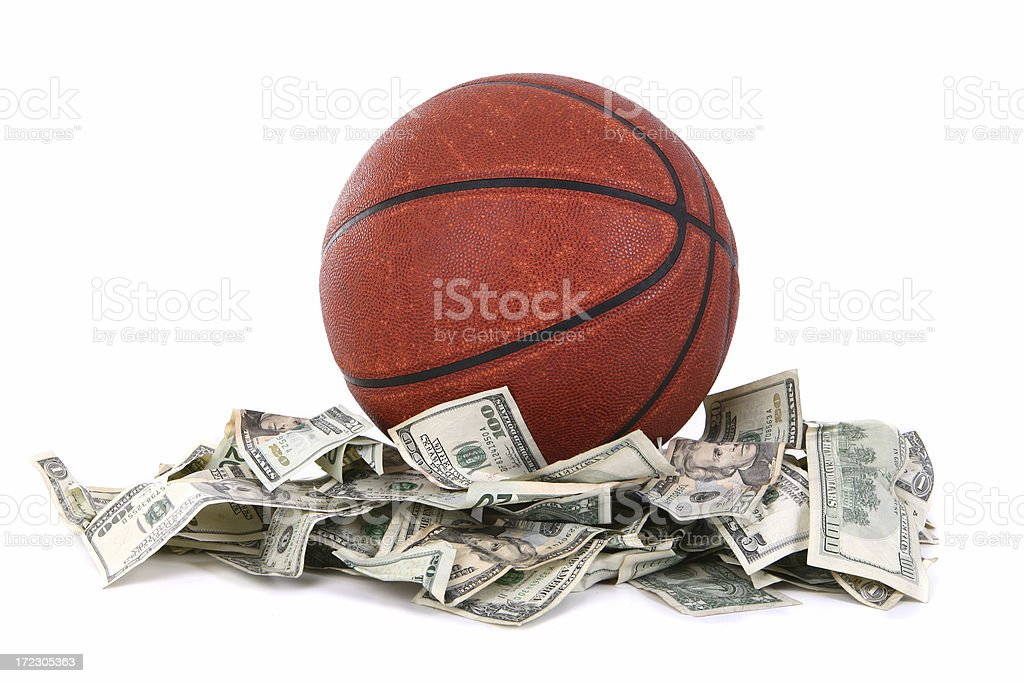 Fantasy Basketball royalty-free stock photo