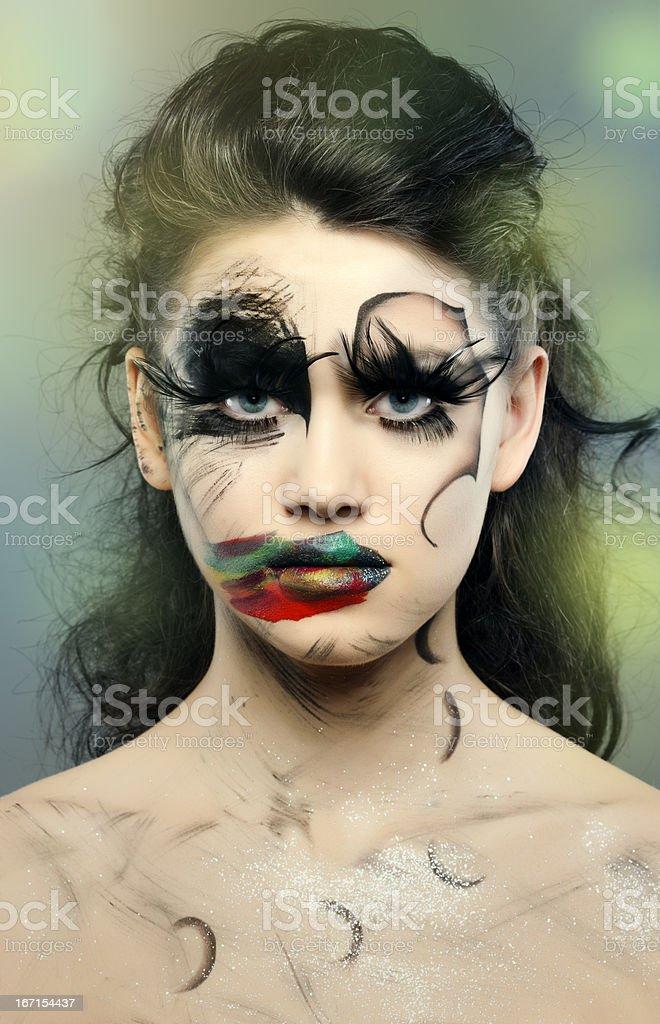 fantasy beauty stock photo