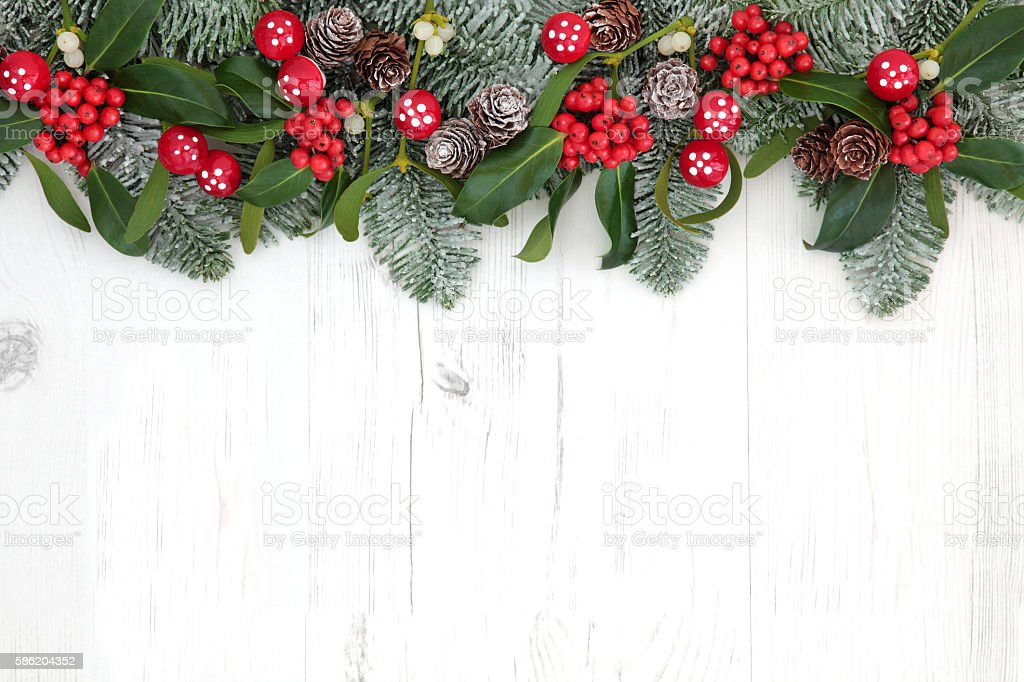 Fantasy Christmas Background stock photo
