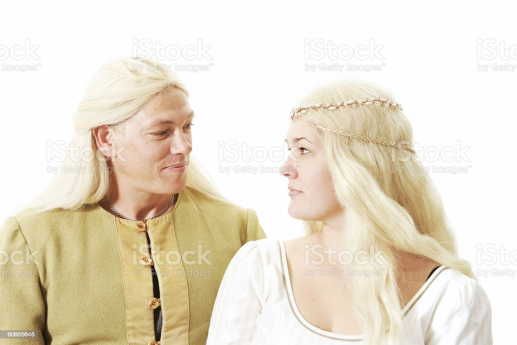 Fantasy Couple stock photo