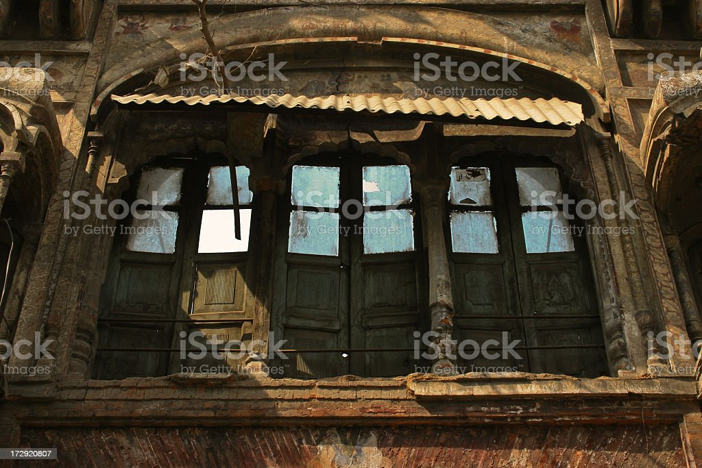 Fantasy doorway royalty-free stock photo