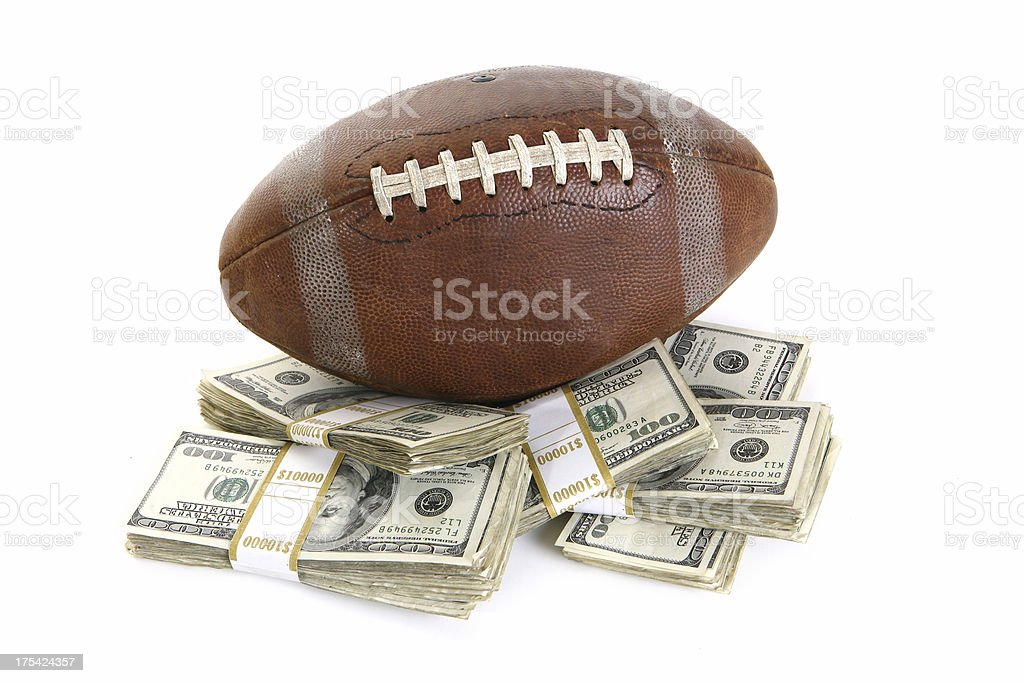Fantasy Football Champion royalty-free stock photo