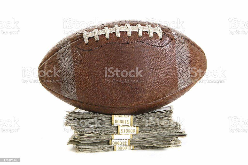 Fantasy Football Champion royalty-free stock photo