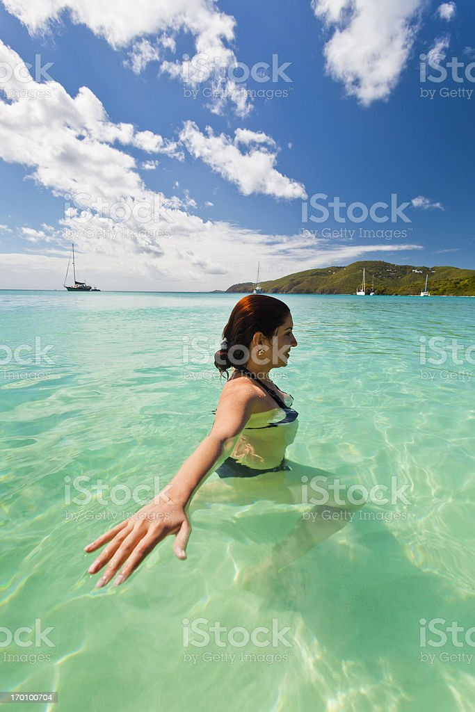 Fantasy Island royalty-free stock photo