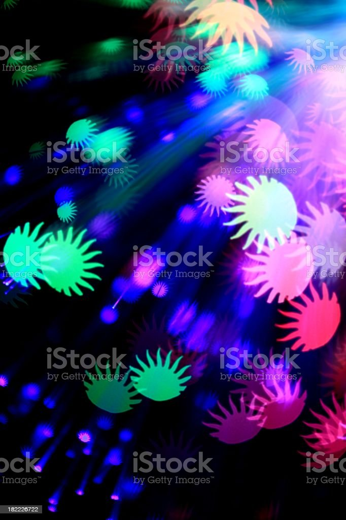 Fantasy Light Show royalty-free stock photo