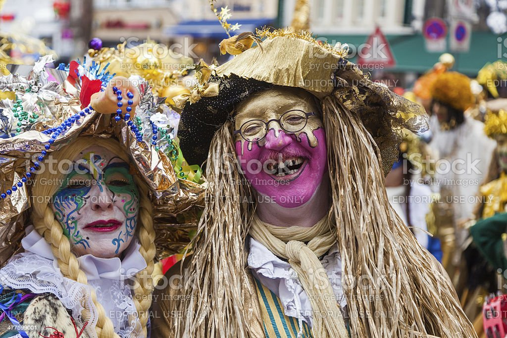 fantasy like costumes at carnival stock photo