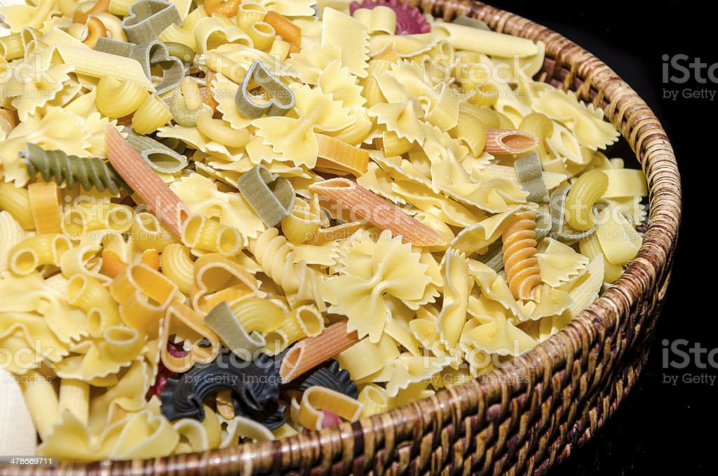 Fantasy Pasta stock photo