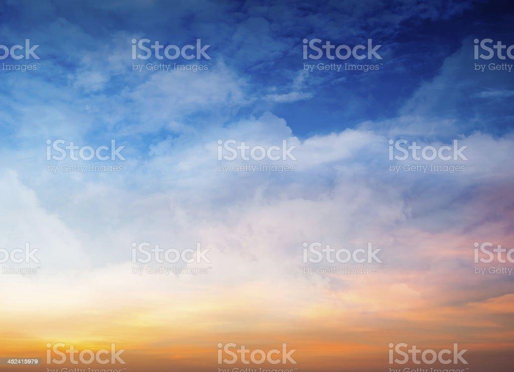 Fantasy Sky Background stock photo