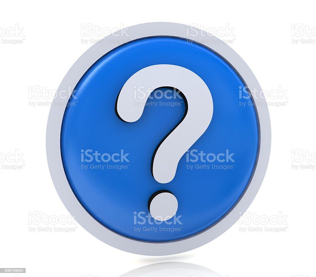 faq or question mark stock photo