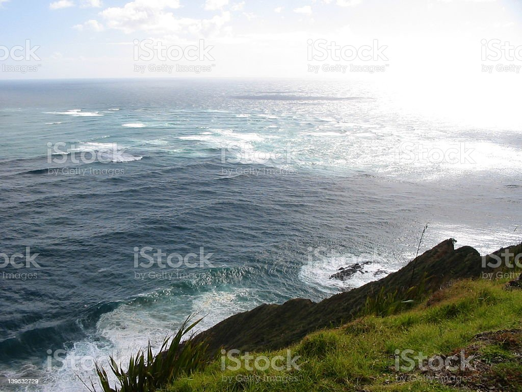 Far north New Zealand waters royalty-free stock photo