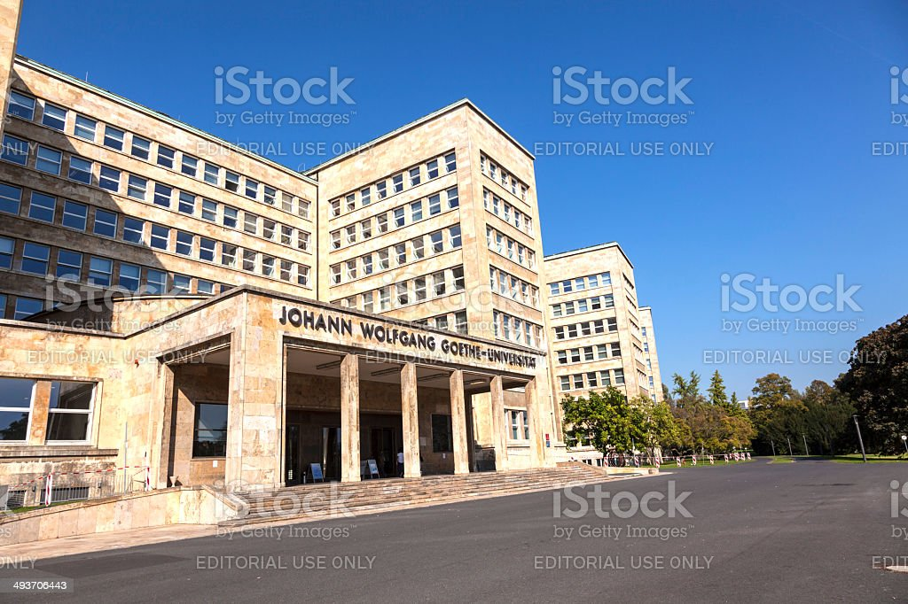 IG farben house used as headquarter of the US Army stock photo