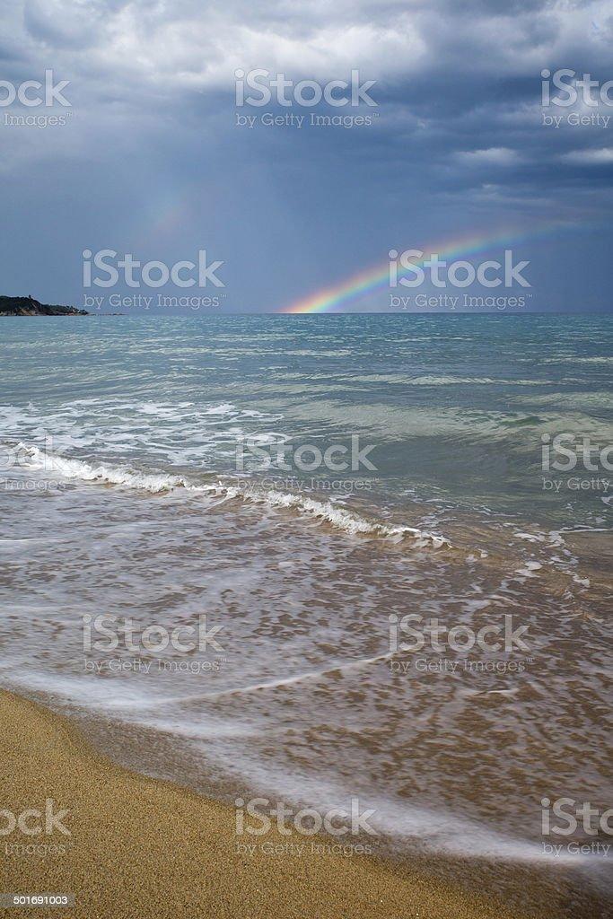 Farbschichtung stock photo