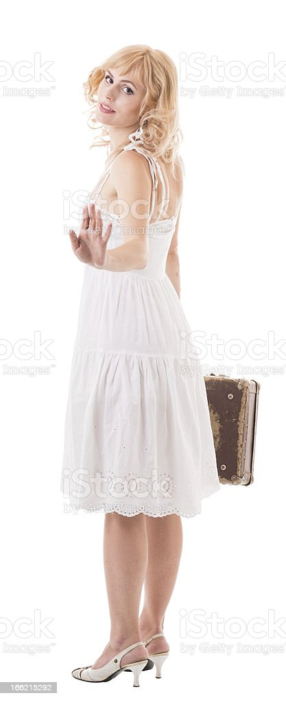 farewell royalty-free stock photo