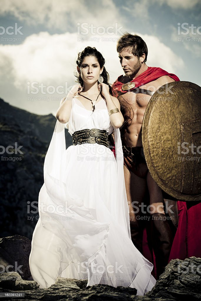 Farewell with talisman royalty-free stock photo