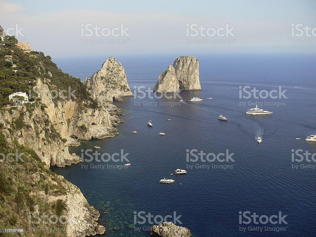 Farglioni royalty-free stock photo